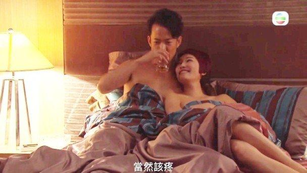 Man hon luoi trong phim TVB khien khan gia soc vi 'nhu phim sex' hinh anh 1