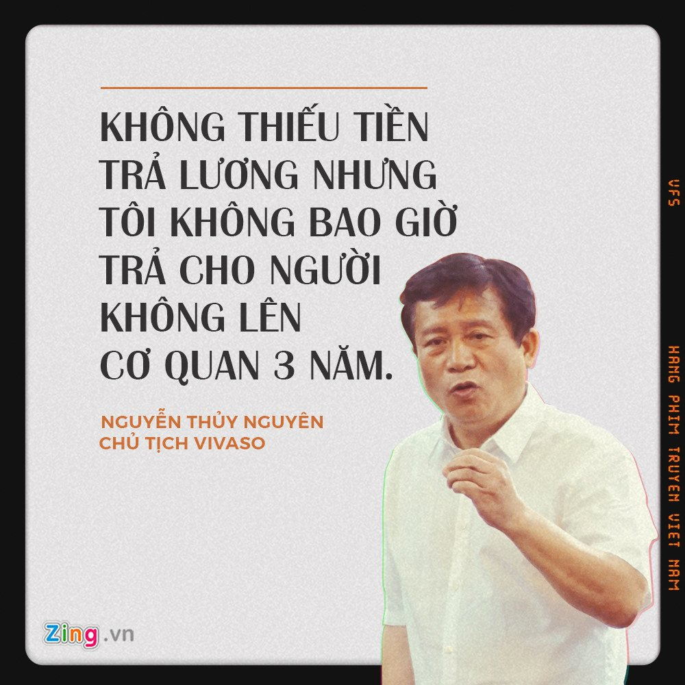 Hang phim truyen Viet Nam: Nghe si giang may cham cong, chu moi goi cong an hinh anh 1