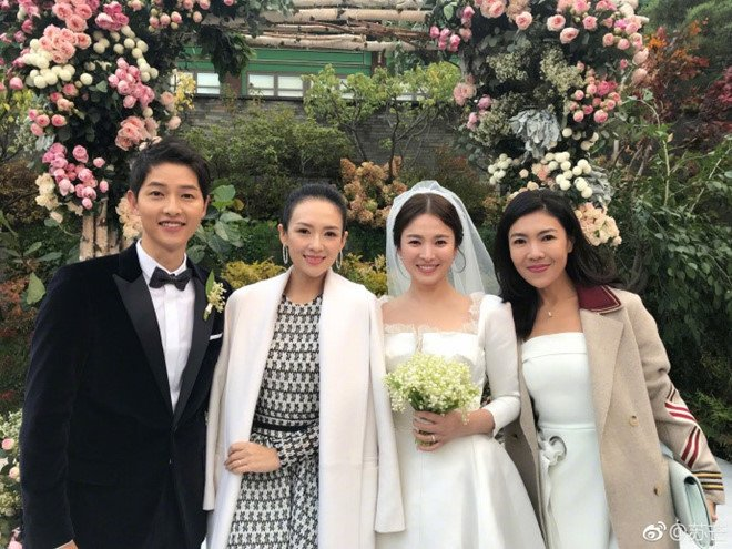 Chuong Tu Di bi chi trich sau le cuoi Song Hye Kyo, Song Joong Ki hinh anh 3