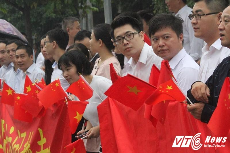 Le don Chu tich Trung Quoc Tap Can Binh tham chinh thuc Viet Nam hinh anh 27