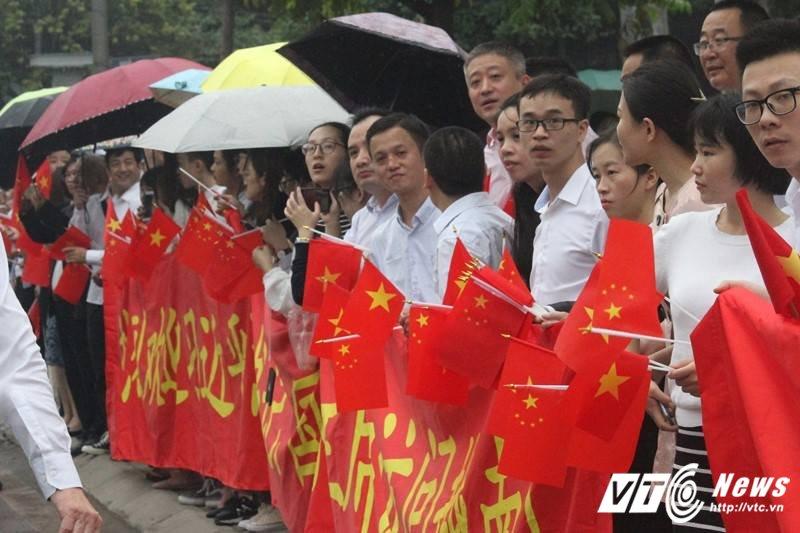 Le don Chu tich Trung Quoc Tap Can Binh tham chinh thuc Viet Nam hinh anh 26