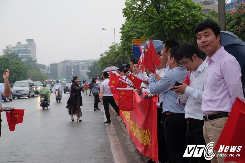 Le don Chu tich Trung Quoc Tap Can Binh tham chinh thuc Viet Nam hinh anh 28