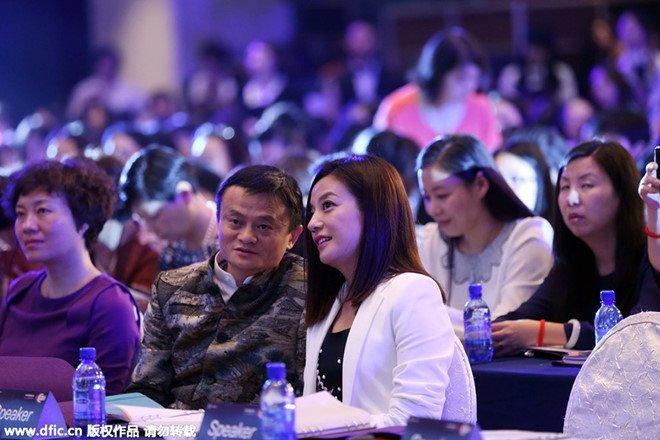 Jack Ma: 'Co ke thao tung chuyen toi va Trieu Vy' hinh anh 1