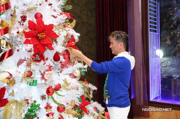 Dam Vinh Hung trang tri biet thu mua Noel hoanh trang khien nhieu nguoi 'choang' hinh anh 14