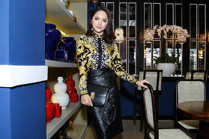 Huong Giang Idol: 'Toi di thi Hoa hau Chuyen gioi la lieu linh va danh doi' hinh anh 1