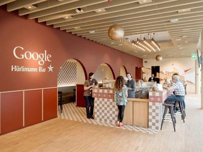 Van phong Google - noi lam viec trong mo cua sinh vien hinh anh 9