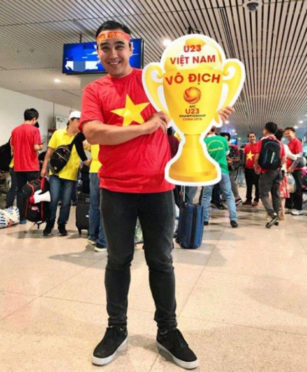 Hoang Bach, Binh Minh cung dan sao Viet sang Trung Quoc co vu tinh than U23 Viet Nam hinh anh 7