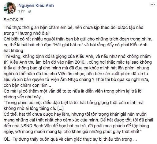 Ca nuong Kieu Anh va dien vien 'Nguoi phan xu' vuong tranh cai hinh anh 1