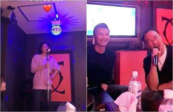 Ta Dinh Phong cuoi rang ro khi ngam Vuong Phi hat karaoke hinh anh 1
