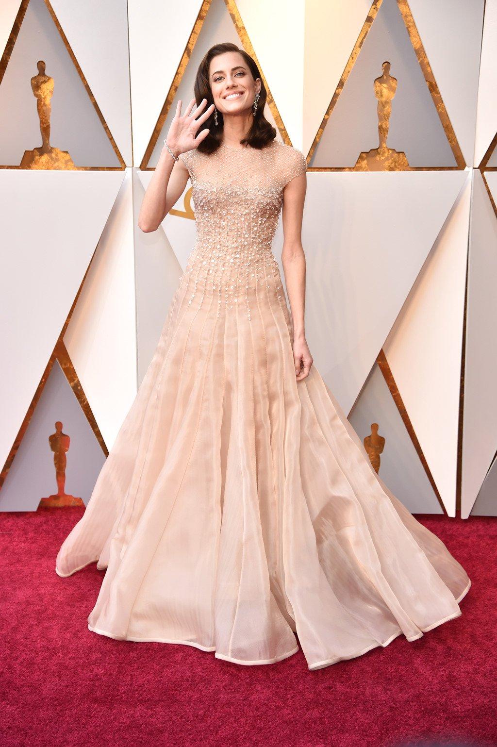 My nhan Hollywood long lay tren tham do Oscar 2018 hinh anh 1