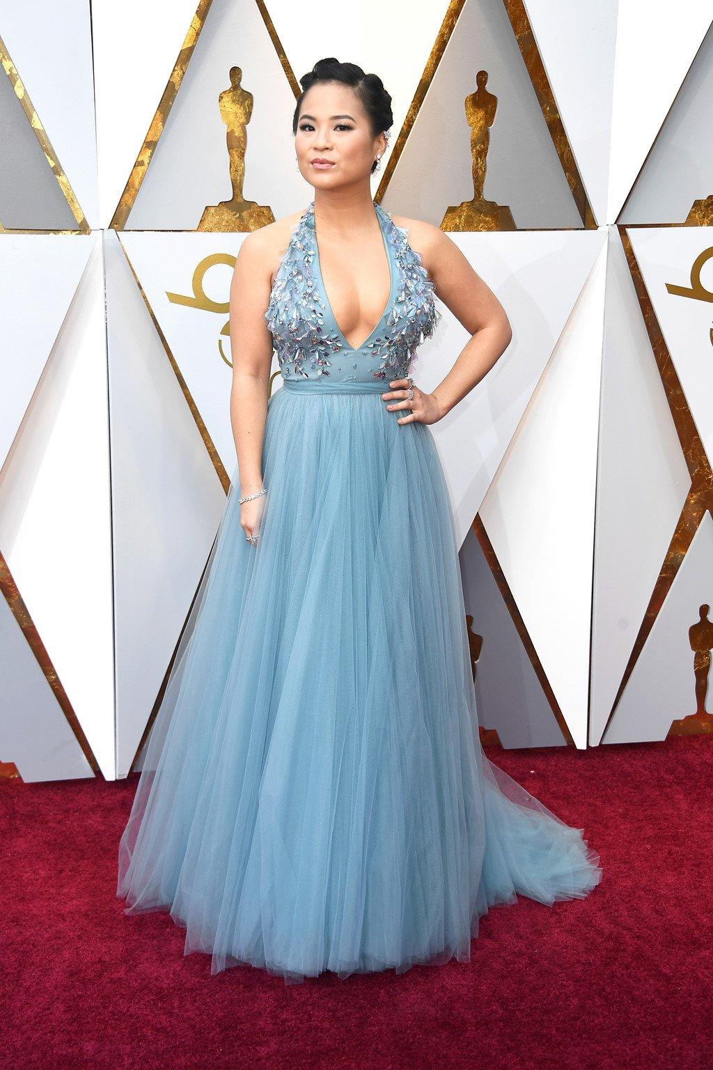 My nhan Hollywood long lay tren tham do Oscar 2018 hinh anh 2