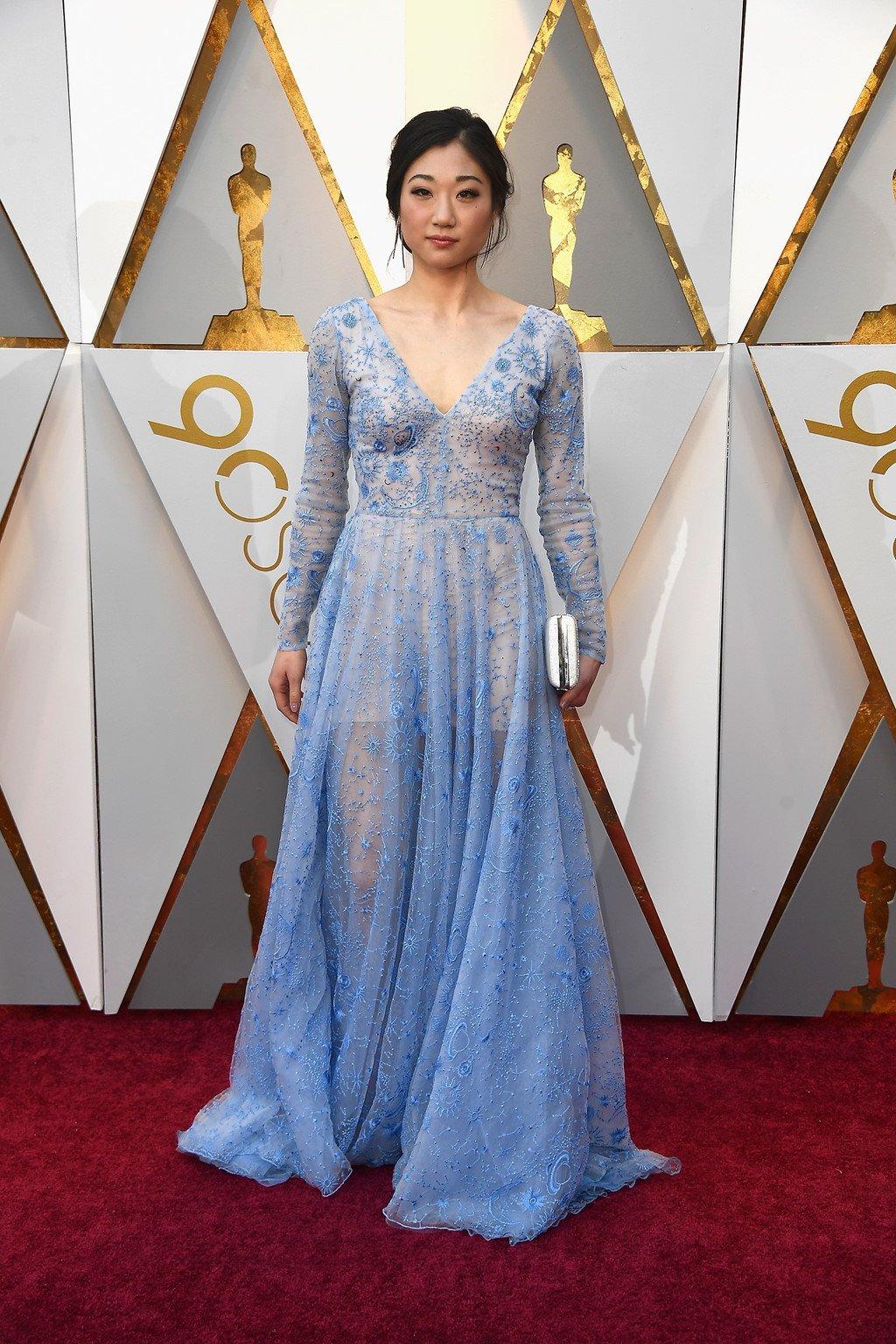 My nhan Hollywood long lay tren tham do Oscar 2018 hinh anh 5