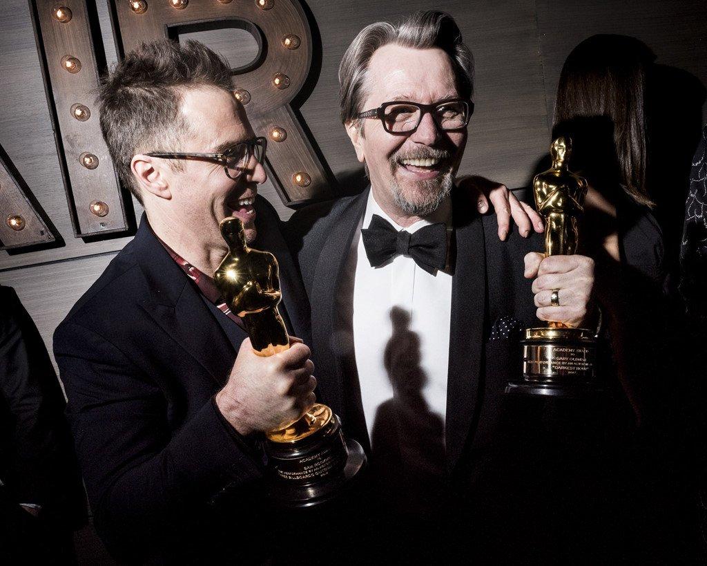 Nhung khoanh khac tuyet dep khep lai mua Oscar thu 90 hinh anh 1