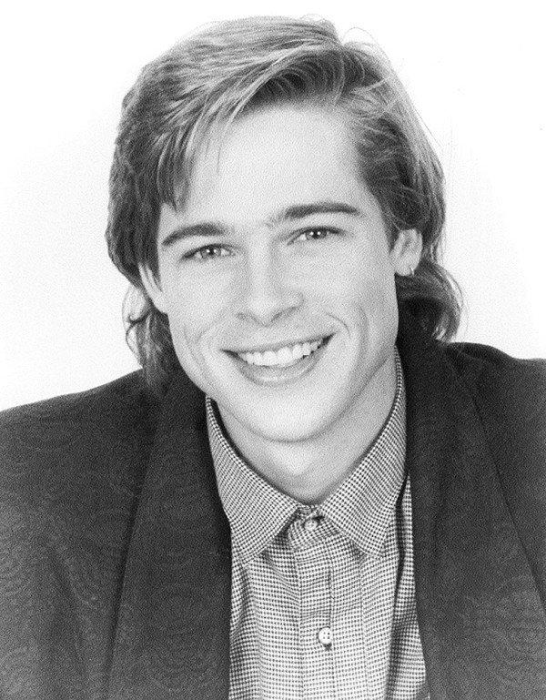 Ve dien trai cua Brad Pitt thoi tre trong bo anh chua tung cong bo hinh anh 7