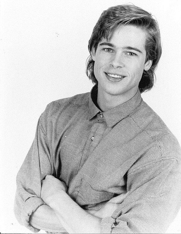 Ve dien trai cua Brad Pitt thoi tre trong bo anh chua tung cong bo hinh anh 2