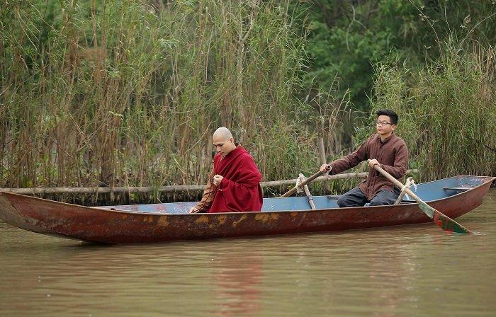 Kieu Anh 'Phia truoc la bau troi'dong MV nhac Phat chosao mai Thu Hang hinh anh 4