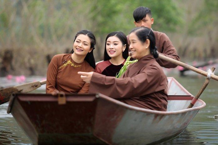 Kieu Anh 'Phia truoc la bau troi'dong MV nhac Phat chosao mai Thu Hang hinh anh 2