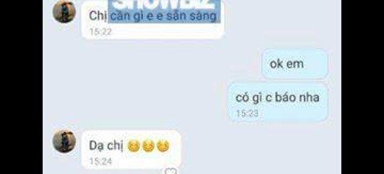 Hoa hau Dang Thu Thao bi lo tin nhan moi 'di khach' gia 12.000 USD hinh anh 2