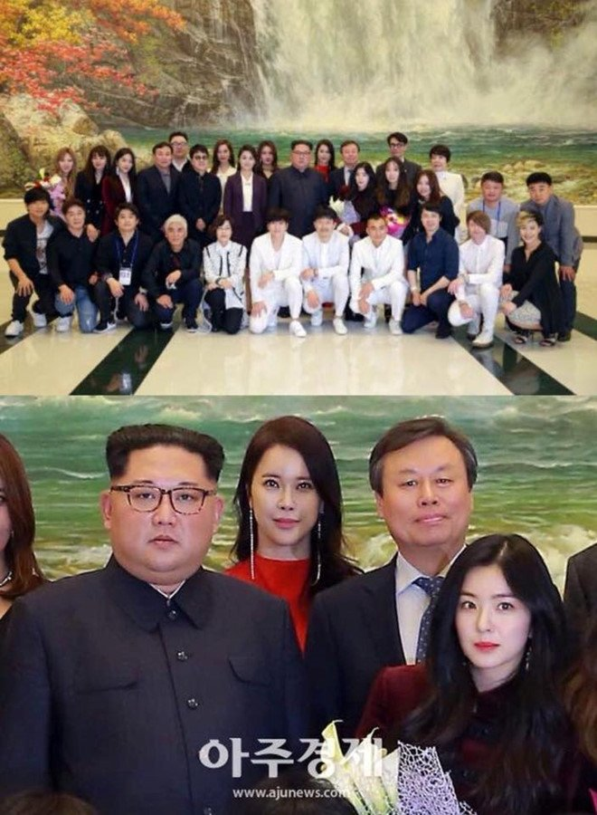 My nhan Irene (Rel Velvet) gay chu y khi chup anh cung Kim Jong Un hinh anh 1