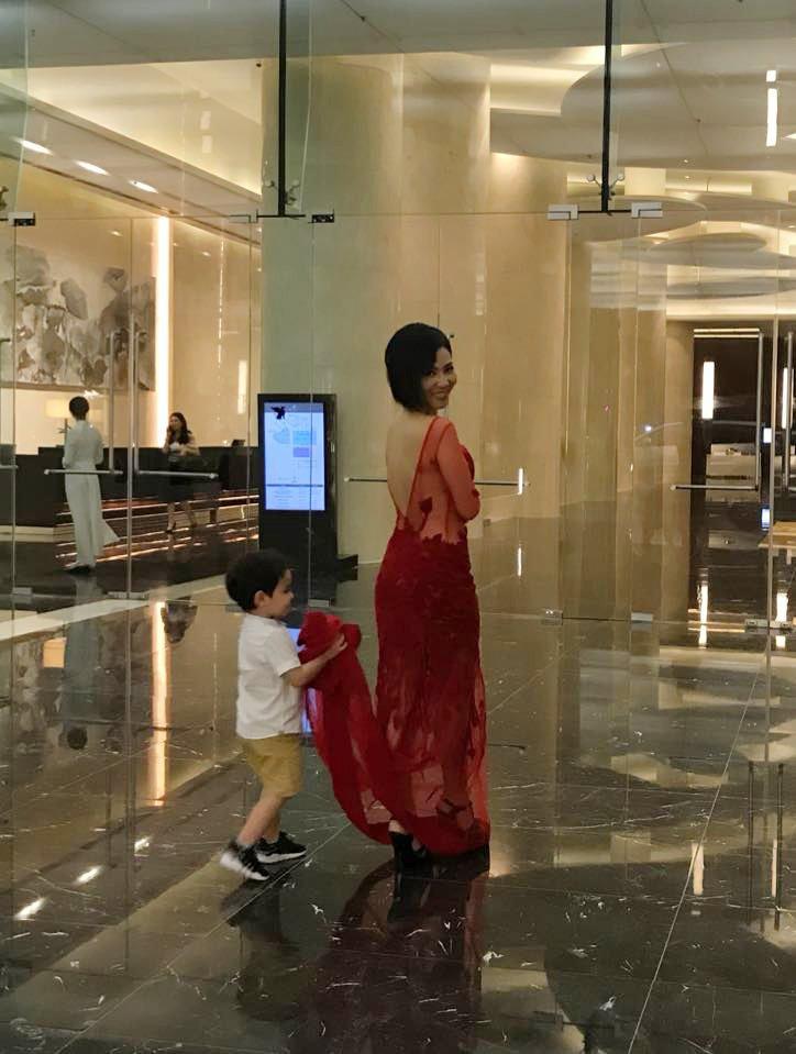 Thu Minh lan dau khoe con trai sau 3 nam giau kin hinh anh 1