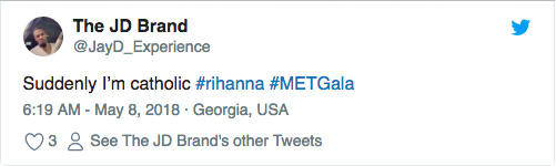 Met Gala 2018: Rihanna mac nhu Giao hoang khien dan tinh phuc sat dat hinh anh 4