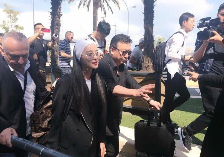 Pham Bang Bang nguong ngung vi su co khi den Phap du LHP Cannes hinh anh 7