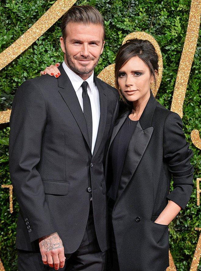 Vo chong David Beckham va dan sao du le cuoi cua Hoang tu Anh hinh anh 2