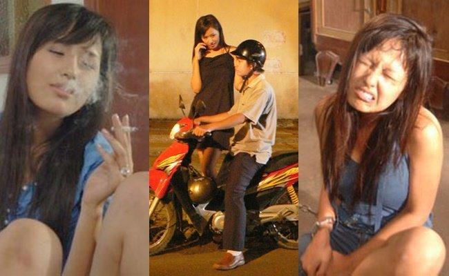 Mai Phuong Thuy vao trai cai nghien de dong phim Hoa hau AIDS hinh anh 1