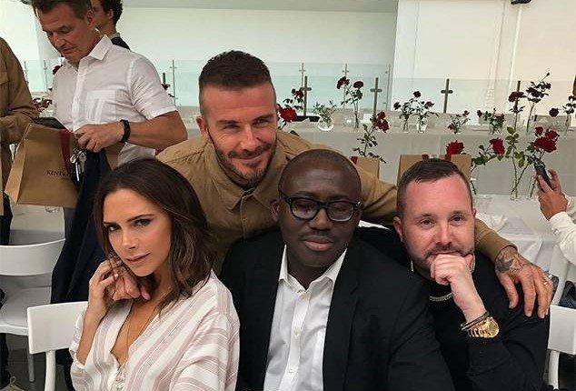 Vo chong David Beckham than mat sau tin don ly hon hinh anh 1