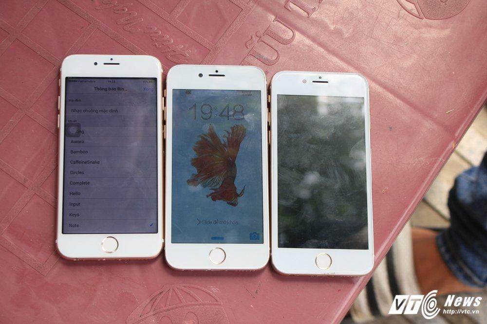 Lat mat nguoi phu nu gia ban iPhone 6 'thoi mien' lua tien o Sai Gon hinh anh 1
