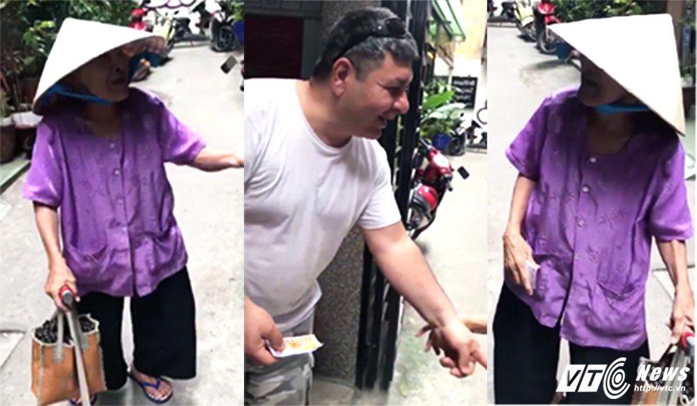 Video: Cu ba 84 tuoi 'ban' tieng Anh nhu gio khi ban ve so cho khach Tay hinh anh 1