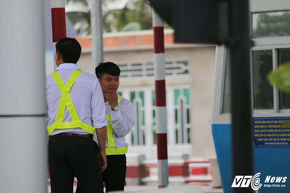 Anh: Nhan vien BOT Cai Lay cuoi rang ro khi xa tram hinh anh 6