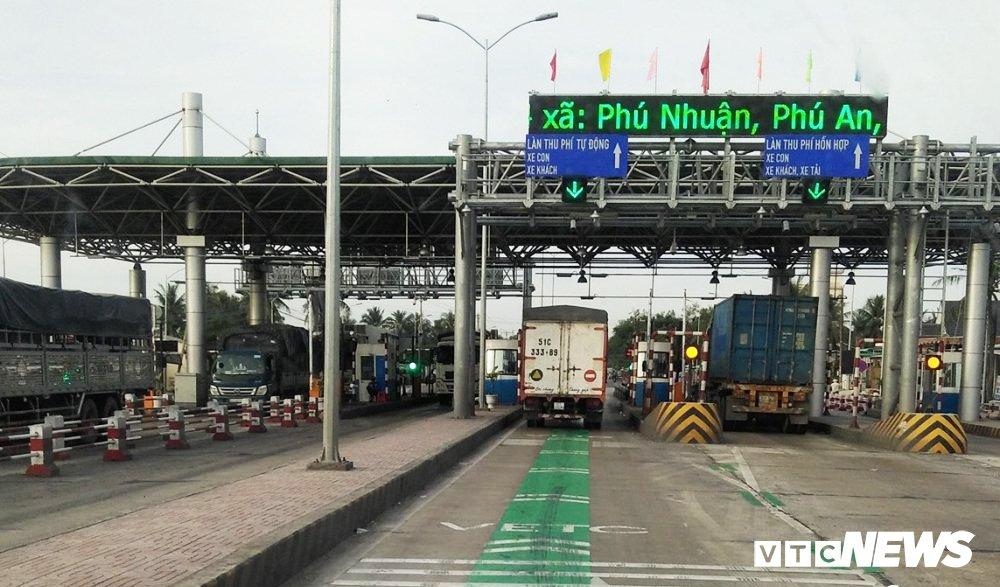 Tron 1 thang xa tram theo lenh Thu tuong, BOT Cai Lay van chua thu phi tro lai hinh anh 1