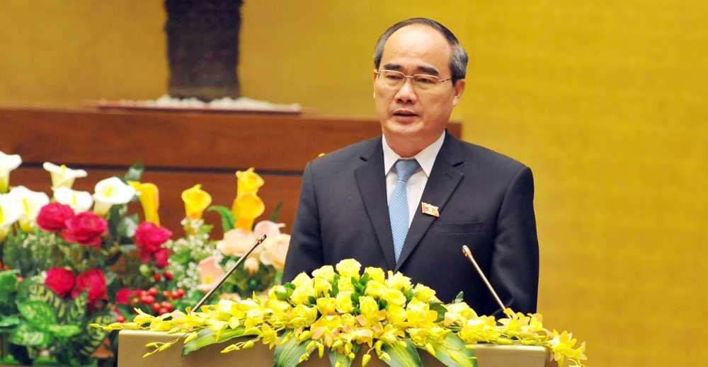 Bi thu TP.HCM Nguyen Thien Nhan: 'Moi ngay TP.HCM dong gop 1.000 ty dong vao ngan sach' hinh anh 1