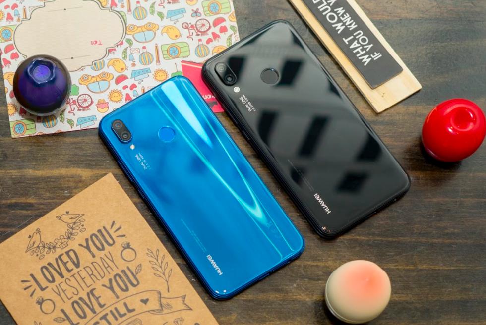 Huawei nova 3e camera kep, man hinh tai tho, gia 6,9 trieu dong hinh anh 1