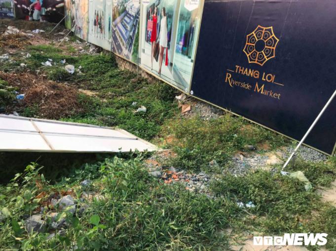 Thang Loi Riverside Market duoc rao ban tran lan: Chu dau tu thua nhan chua co giay phep xay dung hinh anh 1