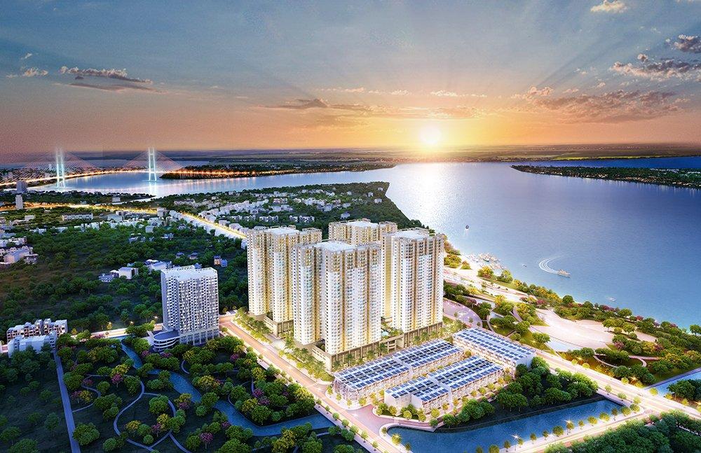 Hung Thinh Land ra mat du an Q7 Saigon Riverside Complex voi 50+ tien ich hien dai hinh anh 1