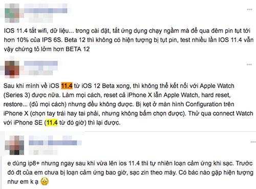 Nguoi dung iPhone Viet phan nan iOS 11.4 'ngon' pin hinh anh 2