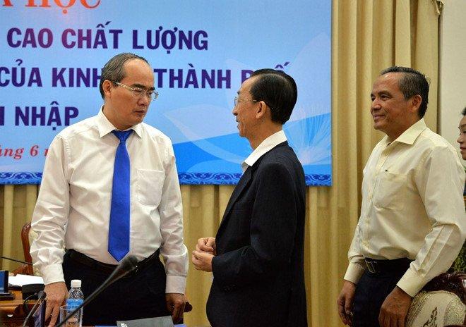 Bi thu Nguyen Thien Nhan: TP. HCM con nhieu dat sao noi het khong gian phat trien hinh anh 1