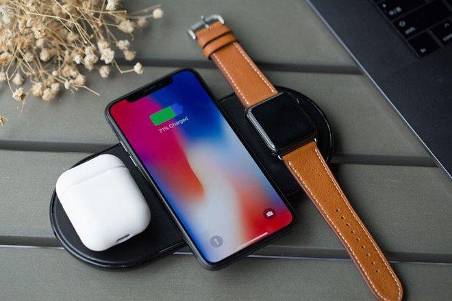 Bo sac khong day AirPower cua Apple se ban vao thang 9 hinh anh 1