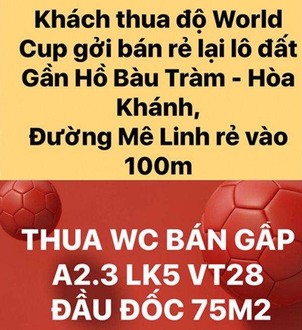 Rao ban nha vi thua do World Cup: Hang re bat ngo, that kho tin hinh anh 1