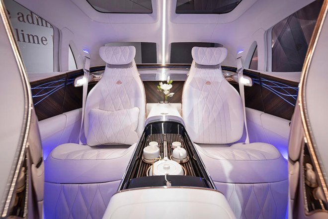 Concept Maybach Ultimate Luxury - dinh cao cua xe sang hinh anh 3