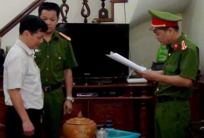 Nguyen Giam doc Cong ty xo so kien thiet Ha Giang bi bat hinh anh 1