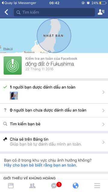 Nguoi Viet danh dau an toan tren Facebook sau dong dat 7,3 do richter rung chuyen Nhat Ban hinh anh 1