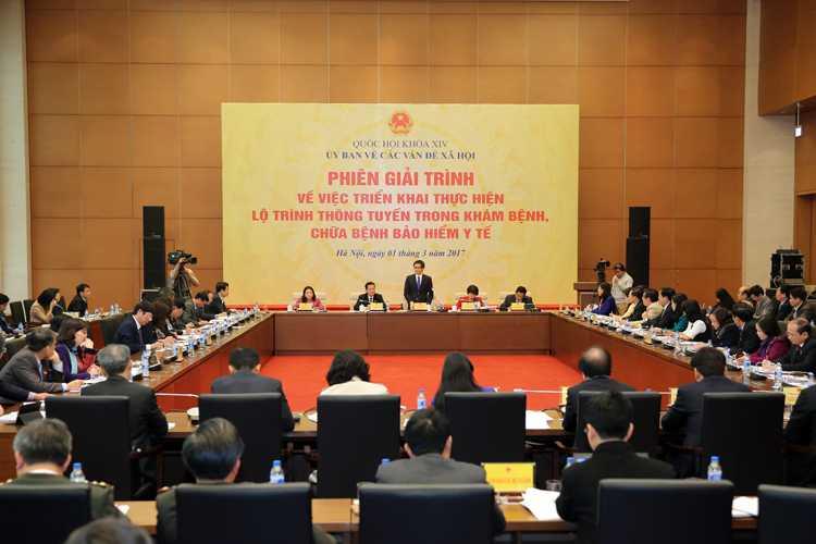 Pho Thu tuong Vu Duc Dam: 'Thong tuyen kham, chua benh bao hiem y te la chu truong dung dan' hinh anh 2