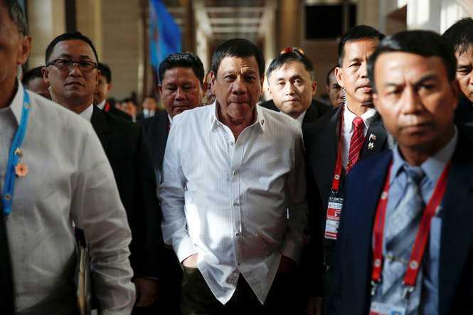 Tong thong Philippines sap tham Viet Nam hinh anh 1