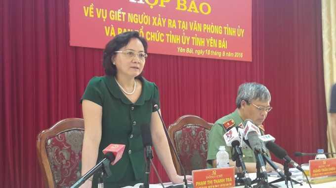 Tin moi nhat vu 2 lanh dao tinh Yen Bai bi ban chet trong phong lam viec hinh anh 1
