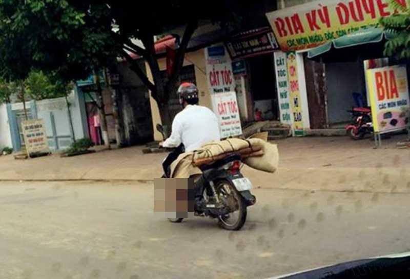 Cho thi the ve bang xe may: Benh nhan chua chet truoc khi ra vien hinh anh 1