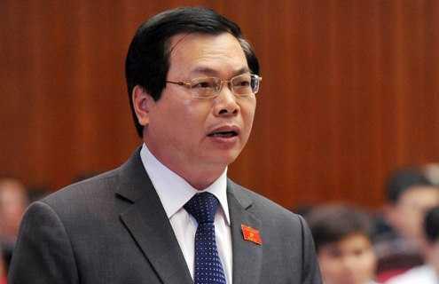 Nguyen Bo truong Cong thuong Vu Huy Hoang bi de nghi canh cao hinh anh 1