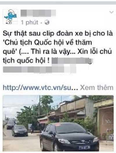 Dang clip sai su that, hang loat facebooker go bai va xin loi Chu tich Quoc hoi hinh anh 2